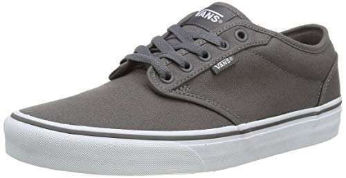 Vans Men's Atwood Canvas Low-Top Sneakers, Grey (pewter), 10 UK (44.5 EU)