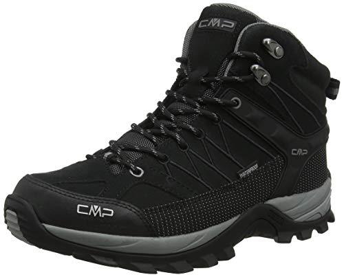 CMP - F.lli Campagnolo Herren Rigel Mid Trekking- & Wanderstiefel, Schwarz (Negro-Grey 73uc), 47 EU