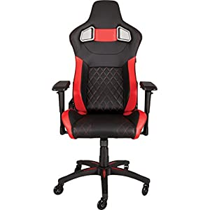 CORSAIR T1 RACE Gaming Chair — Black/Red (CF-9010003-WW)