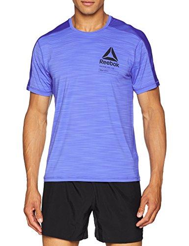 Reebok Activchill Graphic Camiseta, Hombre, Azul (Acdblu), L