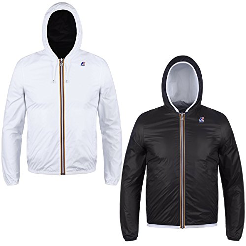 Jacke - Jacques Plus Double White-Steel