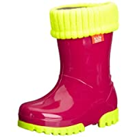 Demar Unisex-Child Fluo Wellies Boots