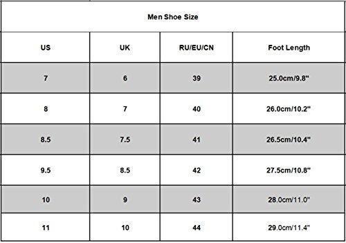 HLHN Herren Hausschuhe Sommer Schuhe Sandalen Strand Slipper Flip Flops Indoor & Outdoor Schwarz