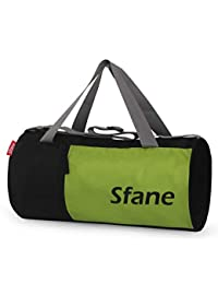 Sfane Men & Women Trendy Black Duffel Gym Bag