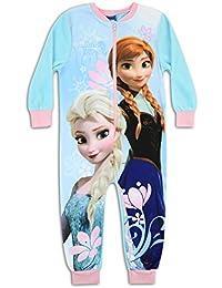 Disney Frozen carácter forro polar Onesie pijama PJ de tamaño UK 2–8años