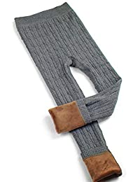 per Pantalones Térmicas de Invierno para Niñas Niños Leggings Infantiles Calentadores para Piernas de Invierno Polainas Infantiles
