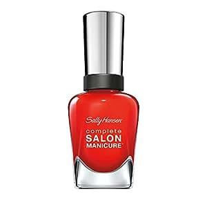 Sally Hansen Complete Salon Manicure Abat-jour , Scarlet fièvre 554 ( New Flame ) 14.7 ml