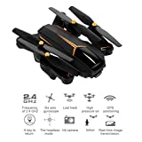Folding Drone with Camera Live Video GPS RC 5.0MP HD 1080P Camera 5G