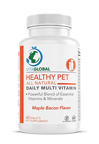 Dog Multivitamin Supplement Best Supply For Essential Vitamins Minerals And Nutrients Boosts Energy Levels Immune System Safe For Puppies Adults & Seniors - Non-GMO & Gluten Free