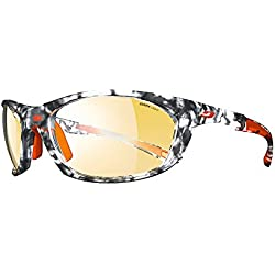7e66761f81 Julbo Race 2.0 Zebra Light – Gafas de sol Hombre, Ecaille gris/naranja/