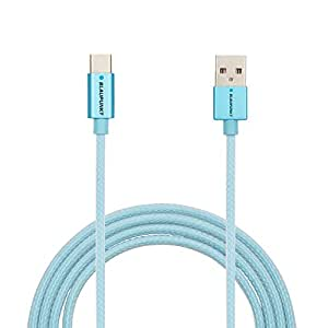 Blaupunkt BI03DJH4 Type C to USB 2.0 Cable (Blue)