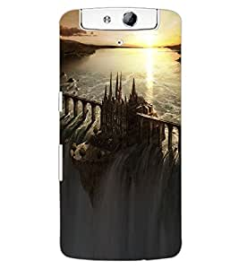 ColourCraft Incredible Image Design Back Case Cover for OPPO N1
