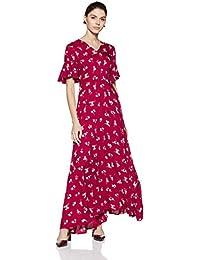 Stalk Buy Love Women's Viscose Linda Maxi Dress