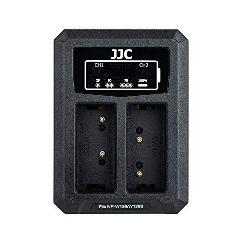 JJC Cargador Batería Dual USB Fujifilm X PRO2 X PRO1