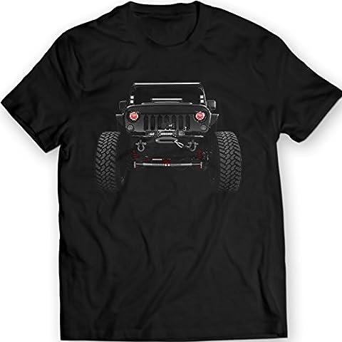American Jeep Wrangler T-Shirts 2014 Mens Tees 100% Coton Holiday