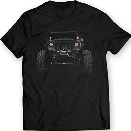American Jeep Wrangler Camisetas 2014 Mens Tees 100%