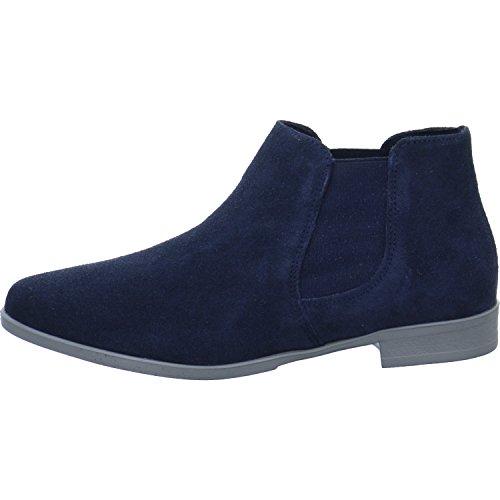 Tamaris Damen Chelsea Boots Blau, Schuhgröße:EUR 41