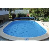 Copertura di sicurezza Pro-TECT forma otto 4,60m x 7,25m telo telone piscina