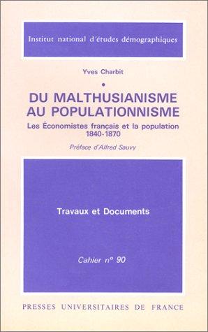 Du malthusianisme au populationnisme : Les économistes français et la population, 1840-1870