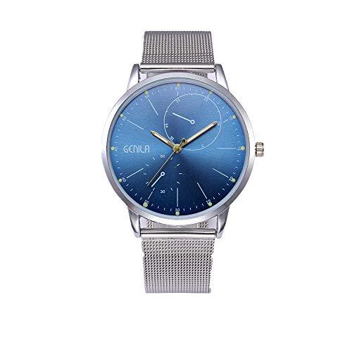 Mesh-Gürteluhr Damenmode Classic Gold Quartz Edelstahl Armbanduhr Chenang Herren Uhren Ultra Dünne Schwarze Minimalistische Quartz mit Datumsanzeige und Milanese Armband