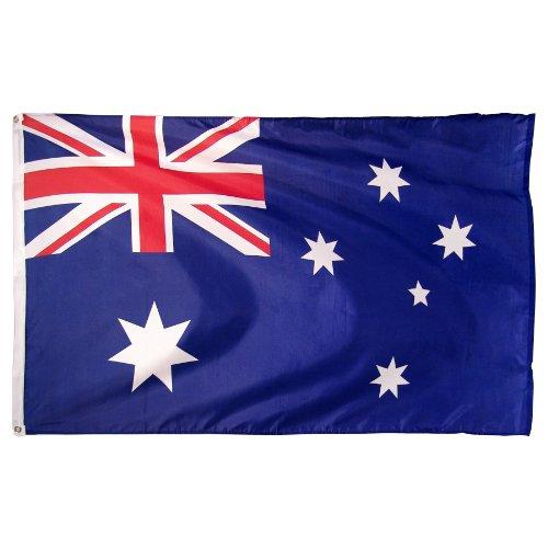 Online-Shops Australien Bedruckt Polyester Flagge, 3von Geschenkpapierrolle 150cm