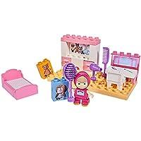 Big - Spielwarenfabrik Big 56704Fábrica 800057134Big de bloxx MB Masha 's Room Masha, oso de juguete