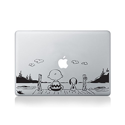 Watching the Sunset Vinyl Macbook Decal Cover for 13-inch Macbook