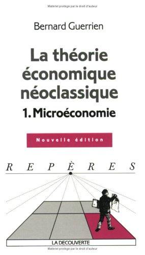 la-thorie-conomique-no-classique-tome-1-microconomie
