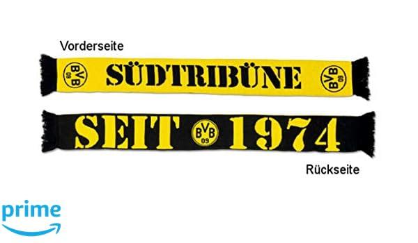 2466642 One size schwarz//gelb BVB Herren Schal Wand