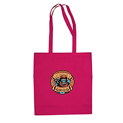 LeChuck's Grog - Stofftasche / Beutel, Farbe: pink