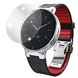 dipos I 6X Schutzfolie klar passend für Alcatel One Touch Watch Folie Bildschirmschutzfolie