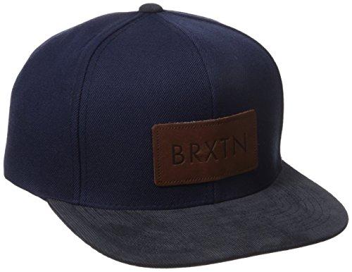 Brixton Unisex Schiebermütze Brood navy/brown