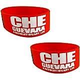 Eshoppee Che Gueavara Designer Wrist Band Bracelet For Man And Women Set Of 2 Pcs. (Che Gueavara 2)