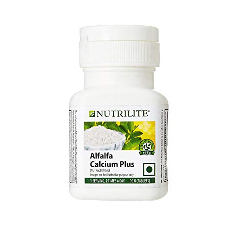 Amway Nutrilite Alfalfa Calcium Plus (90 PCS)