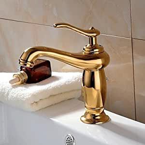 MGN Klassische Reines Kupfer Einzel Griffe Badarmaturen