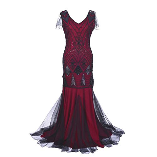 Kleid Prom Kostüm Carrie - Damen Langarm mit Kapuze Mittelalter Kleid bodenlangen Cosplay Vintage Ärmellose Abend Party Prom Swing Dress