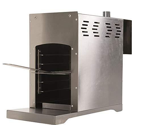 BBGrill Genius Original Hochtemperatur Gasgrill bis 800 Grad Edelstahl
