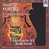 Fantasias for the viols / Henry Purcell   Purcell, Henry (1659-1695)