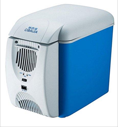 Frigo Portatile, Frigorifero per auto da 7,5 litri, mini frigo portatile, alimentatore 12V DC, frigorifero da viaggio, termostato.
