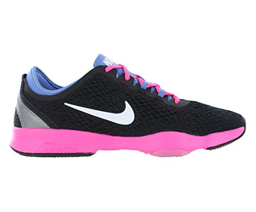 Negro Pow nero Fit Wmn Bianco Nike Tennis polare Talla Scarpe Nero Zoom rosa Donna F78wg