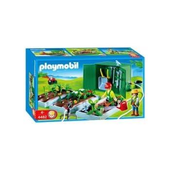 Playmobil - 4482 - Les commerçants - Horticulter : Plantations + Abri