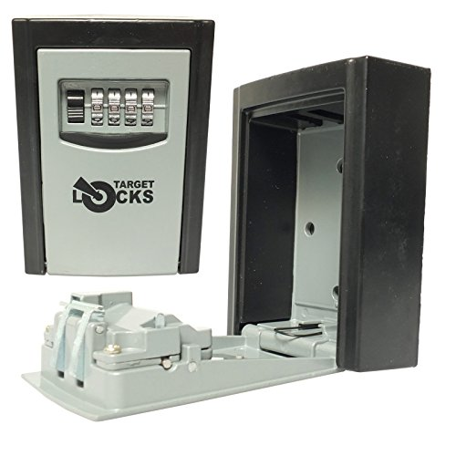 target-locks-caja-de-llaves-de-pared-almacenamiento-impermeable