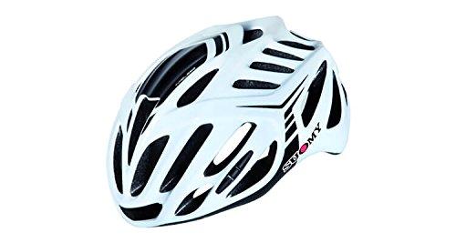 Suomy Casco bici Timeless bianco / nero taglia M (Caschi MTB e Strada) / Road helmet Timeless white / black size M ( Mtb and Road Helmet)