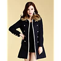 CU@EY MISSWELL collare removibile Tweed Sliming Coat , screen color , s