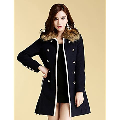 JY$ZB MISSWELL collare removibile Tweed Sliming Coat , screen color-s , screen color-s