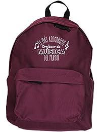 HippoWarehouse El más Asombroso Profesor de Música del Mundo kit mochila Dimensiones: 31 x 42 x 21 cm Capacidad: 18 litros