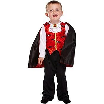 Baby Boy Halloween Dinky Dracula Vampire Fancy Dress Costume