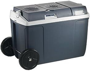 Mobicool W38, thermo-elektrische Kühlbox mit Rollen, 37 Liter, 12 V und 230 V für Auto, Lkw, Steckdose