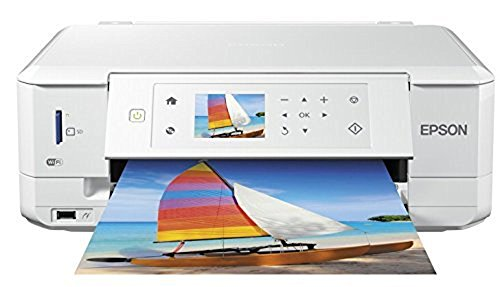 Epson Expression Premium XP-635 Tintenstrahl Multifunktionsdrucker (Drucken, Scannen, Kopieren, 5.760 x 1.440 dpi, Wi-Fi, USB, Duplex) weiß Alte Master-flat