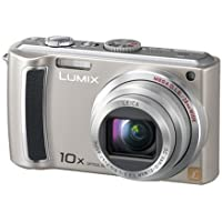 "Panasonic DMC-TZ5 E Digitalkamera (9 Megapixel, 10-fach opt. Zoom, 3"" Display, Bildstabilisator) silber"